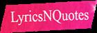 LyricsNQuotes Logo