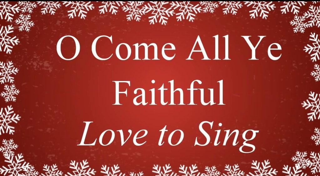 O Come, All Ye Faithful Lyrics - Christmas Songs & Carols - Song Lyrics | Quotes & more ...