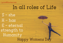 Women's Day Quotes